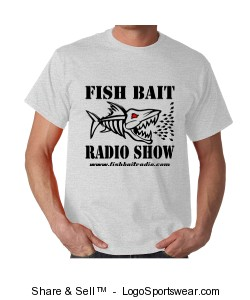 Fish Bait Radio Logo T's Design Zoom